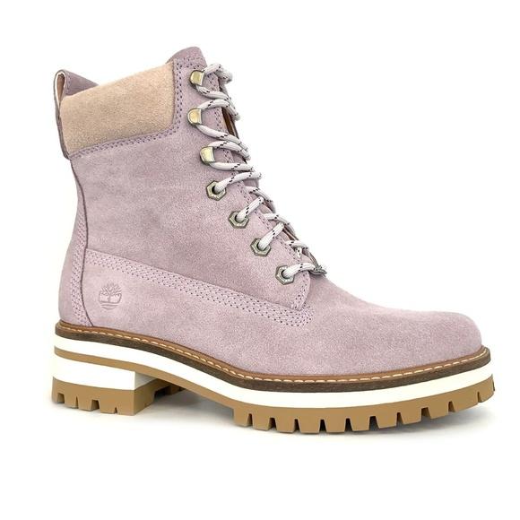 Timberland Womens Light Purple Boots